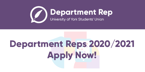 Department Rep Applications