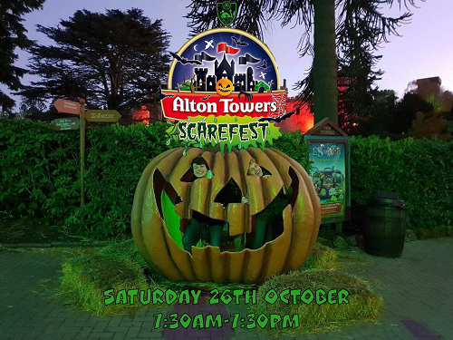 James Goes To...Alton Towers Spooktacular Image