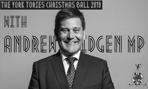 York Tories Christmas Ball with Andrew Bridgen MP Image