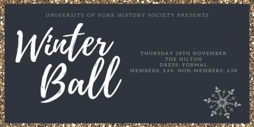 History Society Winter Ball 2019 Image
