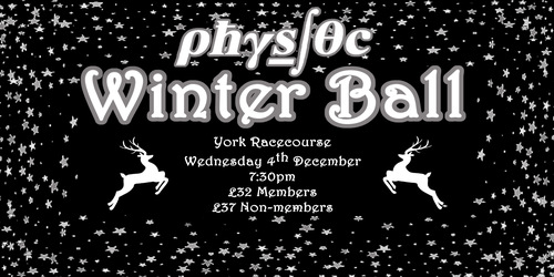 Physics Society Winter Ball Image