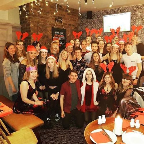 Trampoline Club Christmas Meal Image