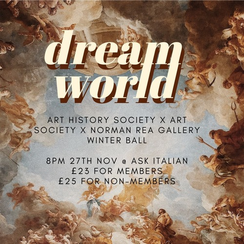 Dream World Christmas Ball (Art History Soc) Image
