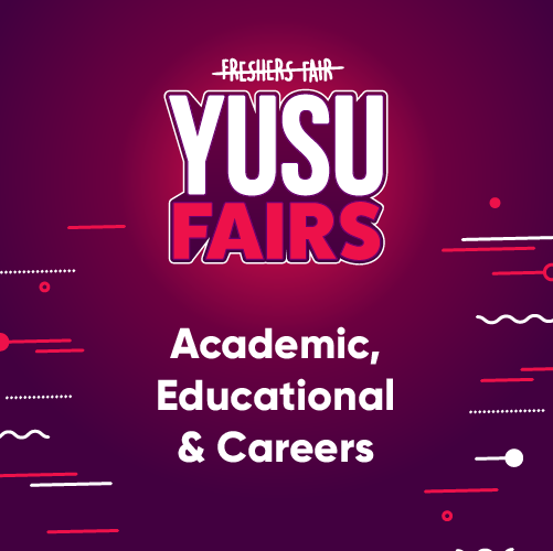 YUSU Fairs:Academic, Educational & Careers