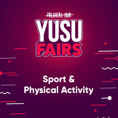 YUSU Fairs: Sport and Physical Activity